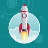 Rocket stock illustration