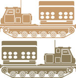 Rocket launcher military vector eps Royalty Free Stock Image