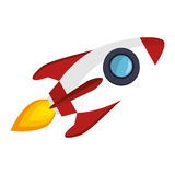 Rocket launcher start up Stock Images