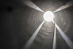 Rocket Launcher Tube interno foto de stock royalty free