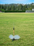 Rocket Launching modelo Fotografia de Stock