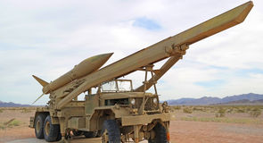 Rocket Launching Vehicle - panorama Image libre de droits
