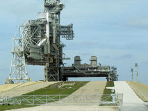 Rocket Launging Platform Fotografia de Stock Royalty Free