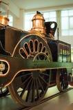 Rocket Locomotive di Stephenson Museo di scienza, Londra, Regno Unito fotografie stock