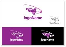 Free Rocket Logo Royalty Free Stock Image - 23087276