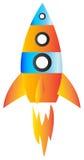 Rocket logo illustration Stock Images