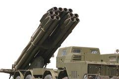 Rocket militare Fotografia Stock Libera da Diritti