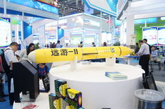 The rocket model exhibition, in China international hi tech Fair Royalty Free Stock Photography