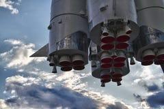 Rocket-Motoren Stockbild
