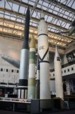 Rocket in National Air and Space Museum Royalty Free Stock Photography