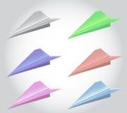 Rocket-Papier Lizenzfreies Stockbild