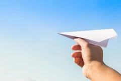 Rocket-Papier Lizenzfreies Stockfoto