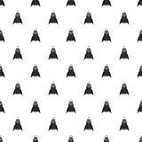 Rocket pattern, simple style Royalty Free Stock Photo