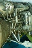 Rocket engine stock photography