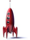 Rocket rosso Immagini Stock Libere da Diritti