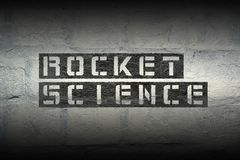 Rocket science gr Royalty Free Stock Photo