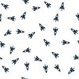 Rocket seamless pattern cover. Rocket icon creative design. Wallpaper, web design, textile, printing and UI and UX usage. Rocket seamless pattern cover. Rocket royalty free illustration
