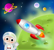 Rocket Ship Fotos de Stock Royalty Free