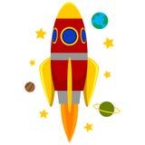 Rocket Ship Imágenes de archivo libres de regalías
