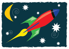 Rocket Ship Royalty Free Stock Images