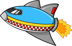 Rocket ship Vector. Cute Rocket ship Vector Illustration Stock Photos
