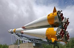 Rocket Souz Image libre de droits