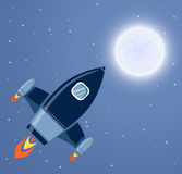 Rocket Space Images libres de droits