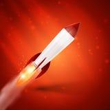 Rocket Space Imagenes de archivo
