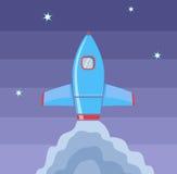 Rocket Space Image stock