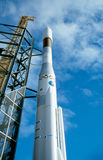 Rocket at the Space Park. Bremen, Germany Stock Images