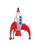 Rocket Space Ship Imagen de archivo