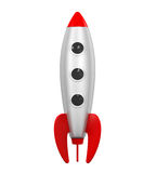 Rocket Space Ship Lizenzfreies Stockbild