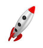 Rocket Space Ship Lizenzfreie Stockbilder