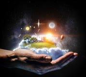 Rocket Space Ship . Mixed media Royalty Free Stock Photography