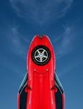 Rocket Speed. Tuned Customised Cars - Rocket or Missile Abstract Royalty Free Stock Image