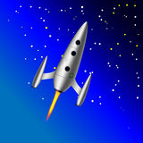 Rocket. Start Up Space Rocket . Vector royalty free illustration