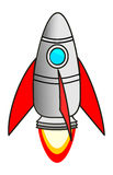 Rocket. Startup Rocket on white background Royalty Free Stock Images