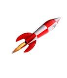 Rocket in su royalty illustrazione gratis