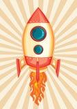 Rocket sull'inizio Fotografia Stock Libera da Diritti