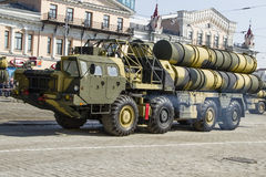 Rocket system in Russia. Russian rocket system, victory day celebration Stock Photos