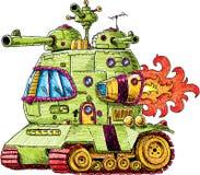 Rocket Tank illustrazione di stock