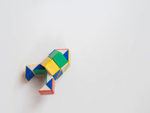 Rocket twist toy. White background Royalty Free Stock Photo