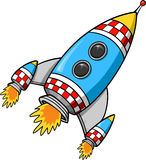 Rocket Vector. Cute space Rocket Vector Illustration Stock Image