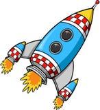 Rocket-Vektor Stockbild