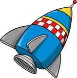 Rocket-vektorabbildung Stockfotos