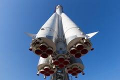 Rocket Vostok framdel och botten 2 Fotografering för Bildbyråer