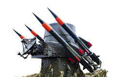 Rocket weapon Stock Images