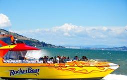 RocketBoat码头39在旧金山,加利福尼亚 库存照片