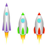 Rockets. Stock Images