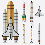 Rockets. Stock Photo